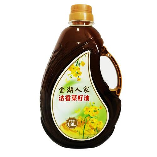 金湖人家浓香菜籽油(1.8L)