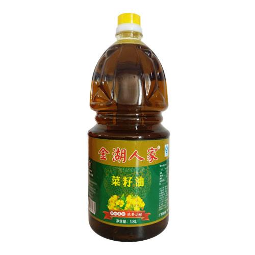 金湖人家浓香小榨菜籽油1.8L