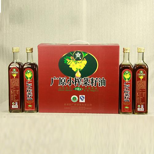 广原菜籽油礼盒装(750ml*4)