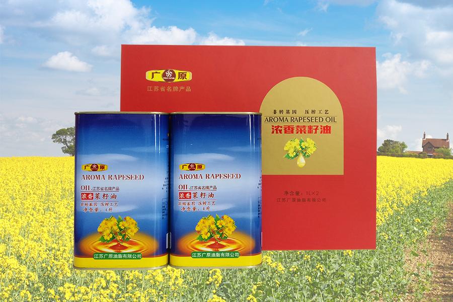 浓香菜籽油1升