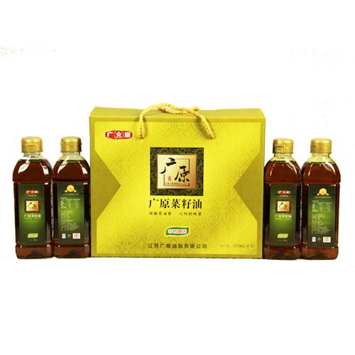 广原菜籽油500ml*4