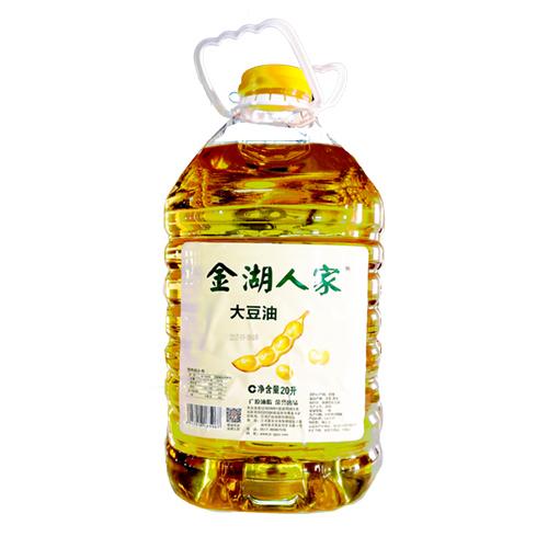 金湖人家大豆油